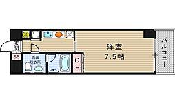 レジデンスナンワ[7階]の間取り