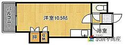 クリオコートイン89[403号室]の間取り