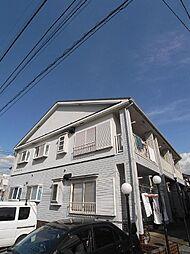 埼玉県新座市大和田5丁目の賃貸アパートの外観
