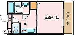 大阪府堺市西区神野町3丁の賃貸アパートの間取り