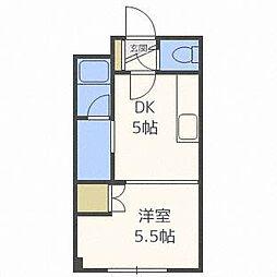 ドマーニ16[4階]の間取り