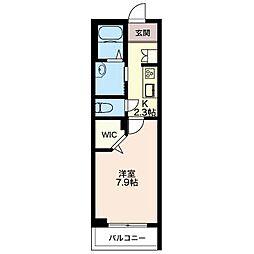 仮)メゾンディアナ[2階]の間取り