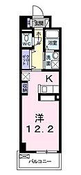パークレーン香春口[4階]の間取り