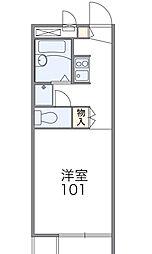 ヒロタ[2階]の間取り