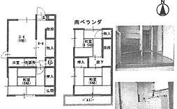 [テラスハウス] 兵庫県尼崎市富松町4丁目 の賃貸【/】の間取り