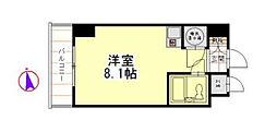 ルックハイツ横浜台町[3階]の間取り
