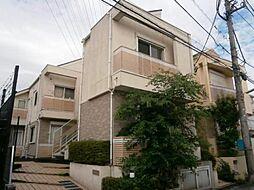 東京都三鷹市北野4の賃貸アパートの外観