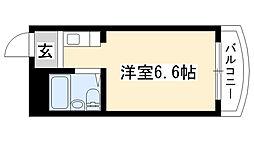 愛知県名古屋市南区豊2丁目の賃貸マンションの間取り