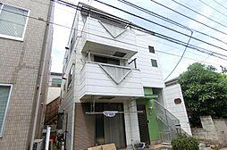 埼玉県越谷市登戸の賃貸マンションの外観