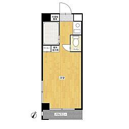 パンルネックス・クリスタル大濠II[2階]の間取り