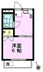 栄コーポ[103号室]の間取り