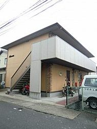 福岡県福岡市早良区干隈3丁目の賃貸アパートの外観