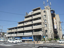 京都府京都市山科区上花山講田町の賃貸マンションの外観