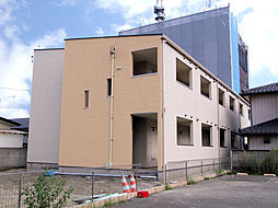 埼玉県東松山市神明町1丁目の賃貸アパートの外観