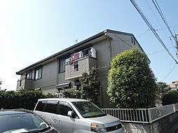 福岡県北九州市八幡西区青山3の賃貸アパートの外観
