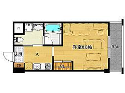 仮)上賀茂デザイナーズマンション[302号室]の間取り