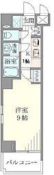 ガーラ神田岩本町[4階]の間取り