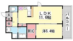 グレイスガーデン[3階]の間取り
