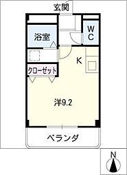 ルミナス11[2階]の間取り