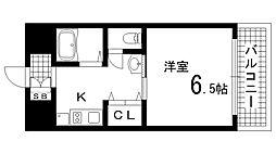 兵庫県神戸市長田区松野通4丁目の賃貸マンションの間取り