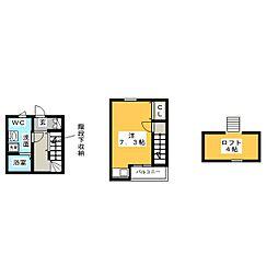 (仮称)吉田様稲永一丁目賃貸住宅[1階]の間取り
