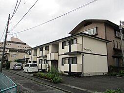 静岡県沼津市本字下一丁田の賃貸アパートの外観