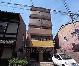 京都府京都市下京区大黒町の賃貸マンションの外観