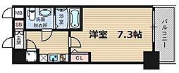 スプランディッド難波2[6階]の間取り