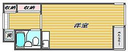 L-VINA目黒[2階]の間取り