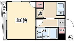 佐藤コーポ[2階]の間取り