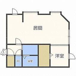 北海道札幌市東区北四十八条東6丁目の賃貸アパートの間取り