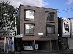 北海道札幌市東区北十八条東8丁目の賃貸アパートの外観