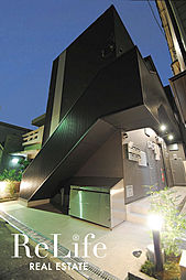 大阪府大阪市生野区鶴橋5丁目の賃貸アパートの外観
