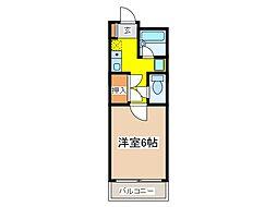 メゾンビガ[2階]の間取り