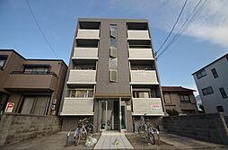 フラット矢田南[4階]の外観