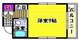 Rinon谷川[2階]の間取り