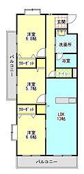 Sakura[2階]の間取り