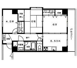 NOBLE.601[2階]の間取り