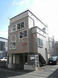 北海道札幌市中央区南五条西18丁目の賃貸アパートの外観