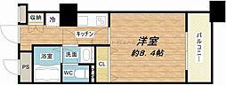 メゾン・ド・ヴィレ大阪城公園前[3階]の間取り