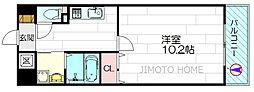 シャトー垂水[10階]の間取り
