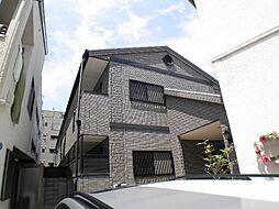 兵庫県芦屋市松ノ内町の賃貸アパートの外観