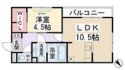 仮称)D-room瑞穂[305号室]の間取り