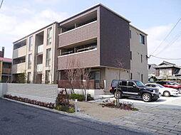 岡山県岡山市北区柳町2丁目の賃貸アパートの外観