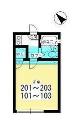 上尾駅 3.4万円