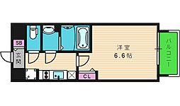 ファステート大阪城東グリッジ[6階]の間取り