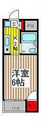 メゾン浦和[1階]の間取り
