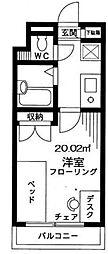 サンクレスト新浦安[1階]の間取り