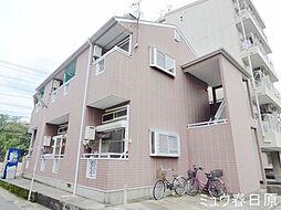 福岡県春日市日の出町2丁目の賃貸アパートの外観