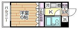 VIPマンション西新井[401号室]の間取り
